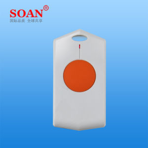 Waterproof Wireless Portabe Panic Button Elderly, Emergency Key for Home Alarm Security System