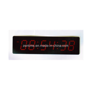 Electric LED Large Digit Display Wall Time Clock pictures & photos