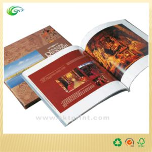 Customized Soft Cover Book Printing with Full Color Printing (CKT-CB-610)