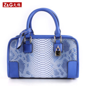 High Quality Snake Leather Handbags Designer Handbags (LDB-037) pictures & photos
