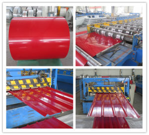 Color Coated Galvanized Roofing Steel Sheet (PPGI/PPGL) pictures & photos