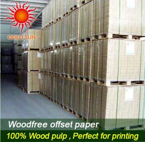 60-90GSM Offset Paper pictures & photos