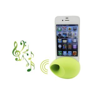 Practical Eco Friendly Silicone Egg Loudspeaker pictures & photos