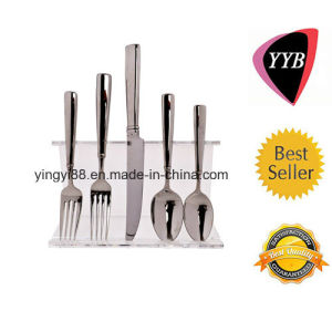 High Quality Acrylic Flatware Display Stand pictures & photos