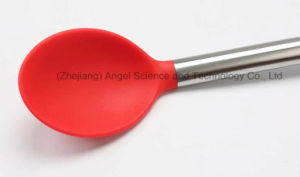 Holiday Promotional Silicone Kitchen Utensil Set: Silicone Scoop Sk19 pictures & photos