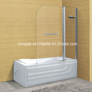 Bathroom Temper Glass Shower Door with The Acrylic Bathtub (A-05) pictures & photos