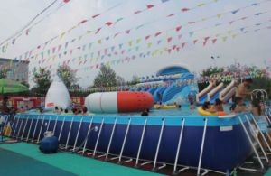 Customized Indoor & Outdoor Inflatable Above Ground Pool pictures & photos
