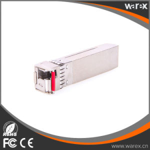 Cisco Compatible 10GBASE-BX 1330nm TX, 1270nm RX, 10.3Gbps, SM, 40km, Single LC SFP+ Transceivers pictures & photos