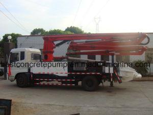 Sn5216thb 21 Concrete Boom Pump Truck pictures & photos