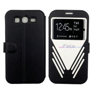 I9082 Full-Covered Shock Proof Leather Case for Samsung/Universal Smart Phone