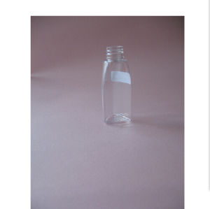1oz Triangle Clear Pet Bottle Without Cap pictures & photos