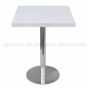 Hot-Selling White Bistro Table Coffee Shop Round Table (SP-RT115) pictures & photos