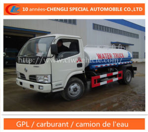 Dongfeng 4X2 5cbm 6cbm 8cbm Water Tank Truck pictures & photos