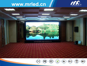 Hot Sell P10.4mm Rental Use Indoor LED Video Display Billboard / LED Mesh Screen Display ISO9001 pictures & photos