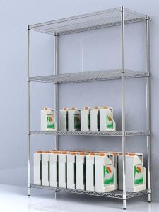 NSF Heavy Duty Chrome Metral Wire Shelving (Load 800lbs / Shelf) pictures & photos
