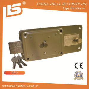 Security High Quality Door Rim Lock (P60) pictures & photos
