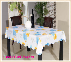 Waterproof Printed PVC Tablecloth on Roll pictures & photos