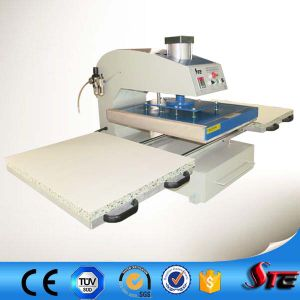 Stc CE Certificate Automatic Pneumatic Double Stations T-Shirt Sublimation Heat Transfer Machine pictures & photos