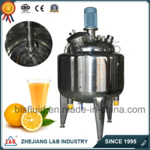 L&B Food and Beverage Processing Equipment Milk Beverage Tank pictures & photos