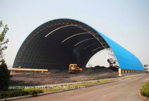 Prefab Steel Space Frame Coal Shed pictures & photos