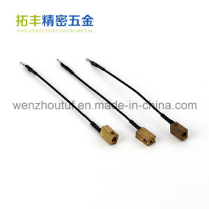 Wenzhou Auto Parts Precision Brass Wire Terminal Block pictures & photos