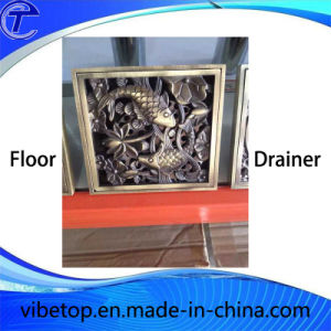 Brass/Copper/Ss Bathroom Accessory Floor Drainer (FD-02) pictures & photos