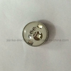 LED Blinking Button Light with Logo Printed (3161) pictures & photos