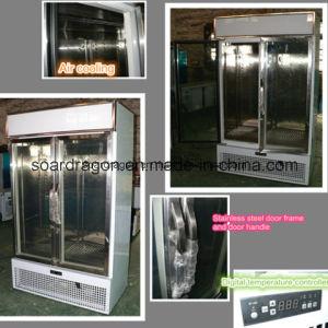 Beautiful Looking Glass Door Display Refrigerator pictures & photos