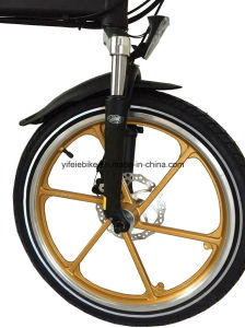 Integrated Wheel Sets Folding Electric Bicycle Electric Bike E-Bicycle E-Bike (TDN11Z) pictures & photos