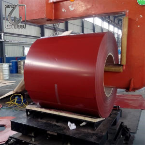 Brick Red Color Prepainted Steel PPGI Coil for Build Sector pictures & photos
