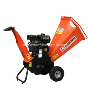 6.5HP 100mm Chipping Capacity Wood Chipper Shredder, Branch Shredder, Tree Shredder pictures & photos