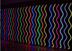 CE EMC LVD RoHS Two Years Warranty, Warm White LED Neon Flex Rope Light (LSN) pictures & photos