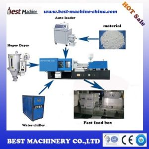 Low Price High Quality Plastic Fast Food Box Injection Moulding Making Machine Price in China pictures & photos