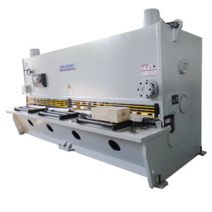 Shanghai Bohai Brand QC11k 6X4000 Hydraulic Variable Angle Guillotine Shear Machine pictures & photos