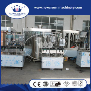 Semi-Auto Linear Type Wine Filling Machine for Glass Bottle pictures & photos