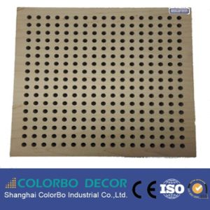 Lowes Soundproofing Wooden Perforated Acoustic Wall Panels pictures & photos