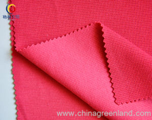 Polyester / Rayon Spandex Poplin Fabric (GLLFC016) pictures & photos