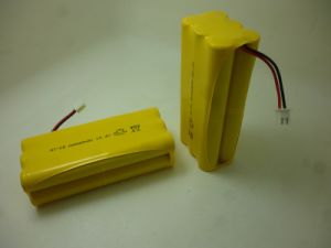 14.4V AA (800mAh) NiCd Rechargeable Battery Pack pictures & photos