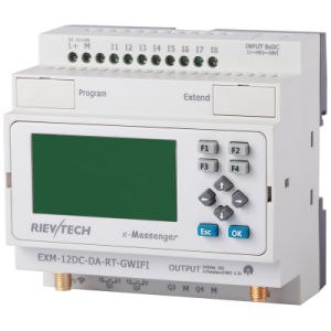 GSM/SMS/GPRS PLC, Ideal Solution for Remote Control& Monitoring &Alarming Applications (EXM-12DC-DA-RT-GWIFI-HMI) pictures & photos