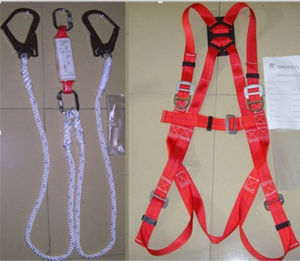 Polyester Webbing Safety Harness for Fire Fighting Protection Safety Belt pictures & photos
