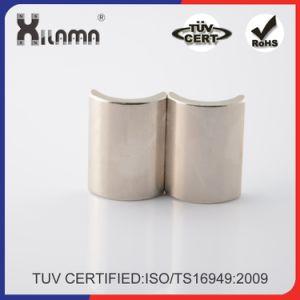 Neodymium Permanent Magnet Segment NdFeB Magnet for Motor Magnet pictures & photos