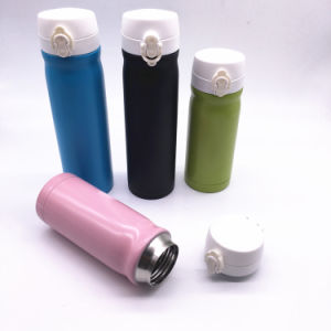 350ml Double Wall Stainless Steel Vacuum Flask Travel Water Bottles pictures & photos