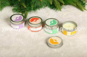 Christmas Spice Scented Soy Wax Candle in Middle Tin