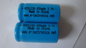 Lithium 123A Rechargeable Battery Charger pictures & photos