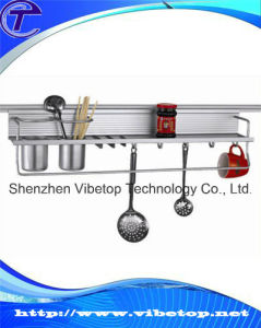 Eco-Friendly DIY Stainless Steel Kitchen Rack (VKH-011) pictures & photos