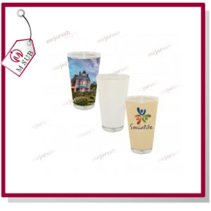 16oz Sublimation Personalized Print Glass Pint Mug pictures & photos
