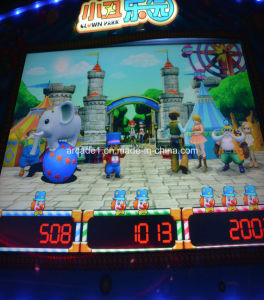 Popular Clown Paradise Game Machine Coin Pusher Coin Pushing Machine pictures & photos