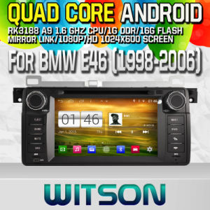 Witson S160 Car DVD for BMW E46 with Quad Core W2-M052 pictures & photos