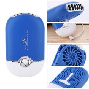 Mini Portable USB Rechargeable Bladeless Wet Sponge Desk Handheld Fan pictures & photos