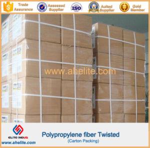 High Strength Concrete Additives PP Twist Fiber pictures & photos